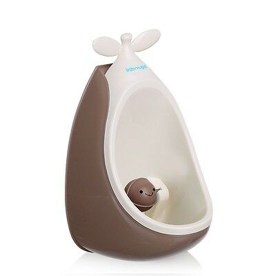 Kids Baby Urinal Toilet Training Bathroom Pee Trainer - Brown Colour