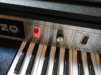 Lorenzo Electronic Organ Vintage Combo Synth ANALOG Made In Italy.