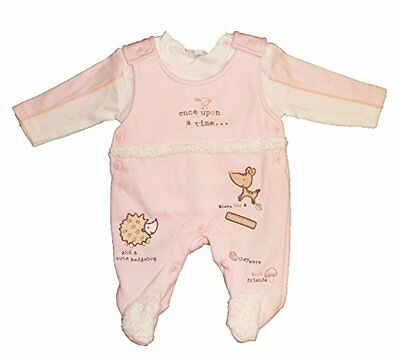 Bambina Rosa Once Upon a Time Design 2 Set Tutina, 0 - 3 mesi
