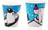 Festive Freestyle Hot Cup, with Lid, 8-9oz, Pack of 10