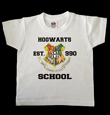 Harry Potter Hogwarts Crest Childs/Toddler T Shirt