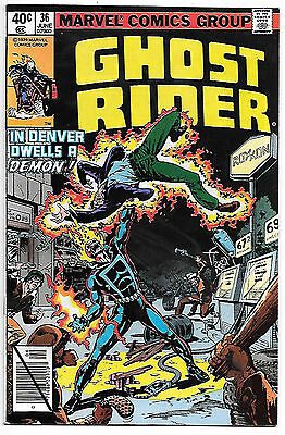 Ghost Rider #36 (Marvel 1978; vf/nm) Guide value $8.00 (£6.00)