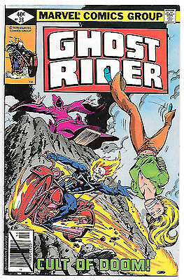 Ghost Rider #38 (Marvel 1979; vf/nm) Guide value $8.00 (£6.00)