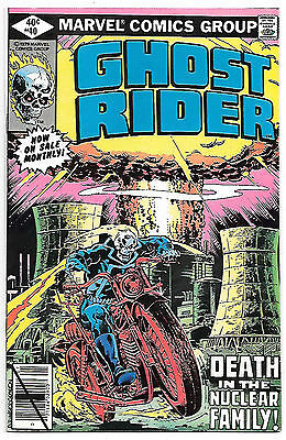 Ghost Rider #40 (Marvel 1980; vf/nm) Guide value $8.00 (£6.00)