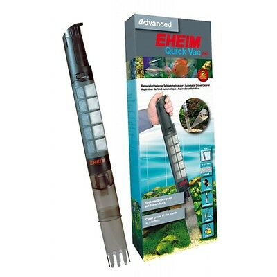 EHEIM Quick Vac pro. Battery aquarium vacuum. Fresh & Salt water. UK Seller.