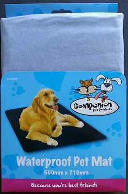 Dog Pet Waterproof Mat. Ideal for protecting the home or car from mud and water