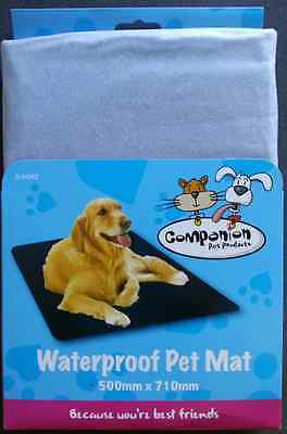 Waterproof Pet Dogs Mat. Ideal for protecting the home or car from mud and water