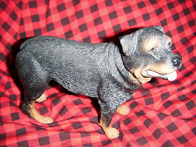 Gorgeous Rottweiler figurine by Leonardo