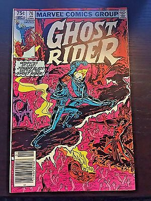 Ghost Rider (1973 1st Series) #76 8.5 VF+ Very Fine+ Marvel Comic Canadian Price
