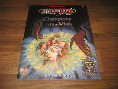 AD&D 2nd Edition Ravenloft Champions of the Mists Accessory 1998 TSR 9559