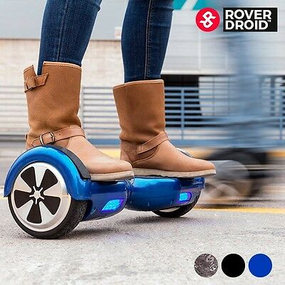 Mini-Scooter Électrique Auto-Équilibrage 2Roues Rover Droid Hoverboard Gyropode