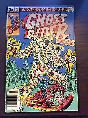 Ghost Rider (1973 1st Series) #77 8.5 VF+ Very Fine+ Marvel Comic Canadian Price