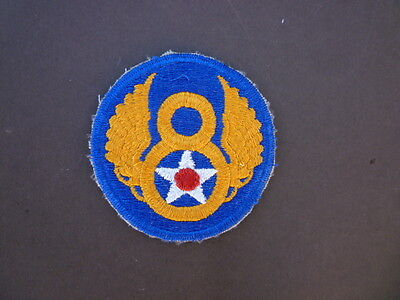 Mighty Eighth - 8th USAAF - US Army Air Force Shoulder Patch