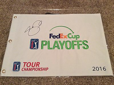 Jason Day Tour Championship FedEx Cup Golf Flag - Signed