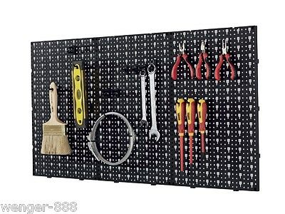 Sturdy Wall Hanging Tool Organiser/Storage Rack Keeps Tool Tidy in Any Workshop