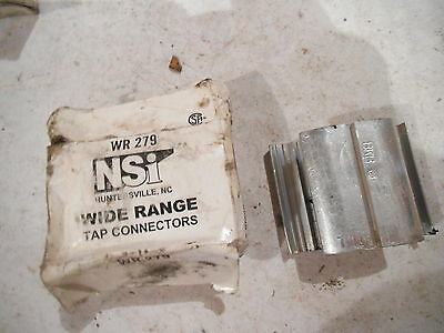 """NSI WR279 Compression Connector H-Tap Design Contax Prefilled use """"d"""" die"""