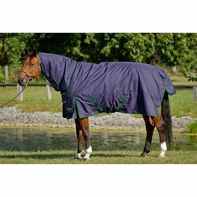 SHIRES Brand BRIDLEWAY WHISTLER COMBO TURN-OUT HORSE BLANKET SIZE 84""