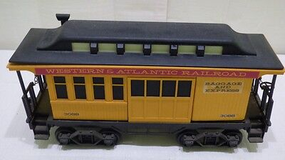 Western & Atlantic Railroad G Scale Model Baggage and Express Car