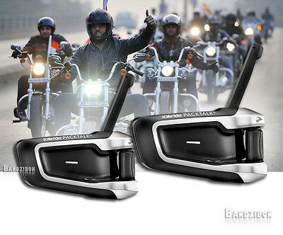 Cardo Scala Rider Packtalk Duo Bike Motorcycle Intercom Communication Headset