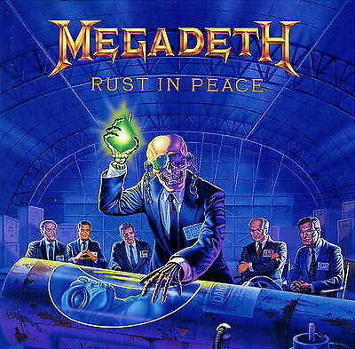 MEGADETH - Rust In Peace Album Cover Art Print Poster 12 x 12