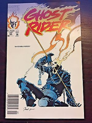 Ghost Rider (1990 2nd Series) #21 9.4 NM Near Mint Marvel Comics High Grade