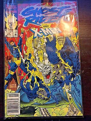 Ghost Rider (1990 2nd Series) #26 8.5 VF+ Very Fine+ Marvel Comics Newsstand