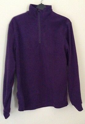 Child's Purple Fleece - Age 11 - 12