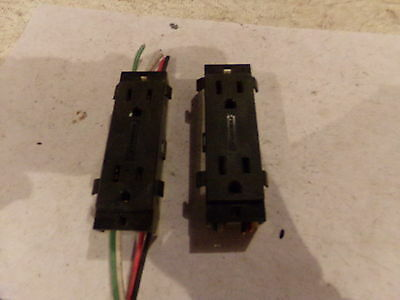 Wiremold 15A 125V Receptacle (Lot Of 2) -  Used