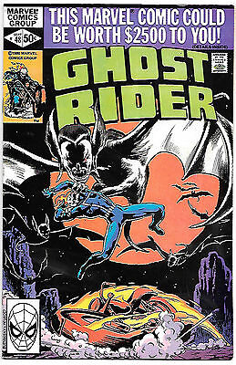 Ghost Rider #48 (Marvel 1980; vf/nm) Guide value $8.00 (£6.00)