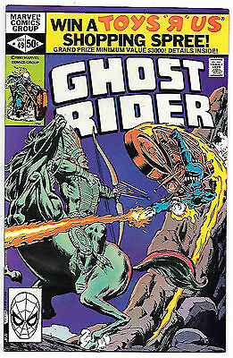 Ghost Rider #49 (Marvel 1980; vf/nm) Guide value $8.00 (£6.00)