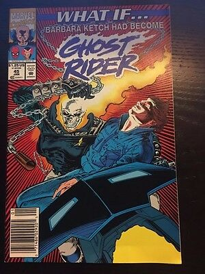 What If (1989 2nd Series) #45 8.5 VF+ Very Fine+ Marvel Comics Ghost Rider