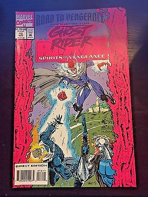 Ghost Rider Blaze Spirits of Vengeance 1992 #16 8.5 VF+ Very Fine+ Marvel Comics