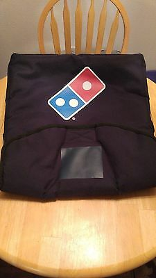 Dominos Heat Wave pizza delivery insulated thermal bag( used once )