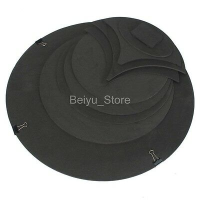 Black Bass Snare Drum Off Quiet Drums Mute Drumming Practice Pad Silencer x 10