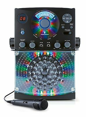 Singing Machine SML385BTBK Top Loading CDG Karaoke System with Bluetooth Soun...