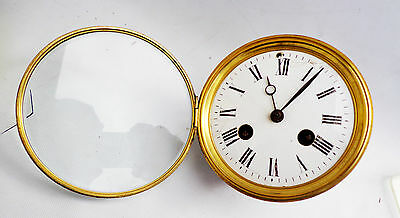 Antique FRENCH 8 DAYS  CLOCK Movement (BB562) -12870 ( FOR RESTORATION)