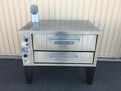 bakers pride 151 single deck pizza oven  -  completely reconditioned