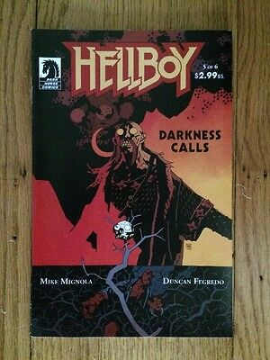 Hellboy: Darkness Calls #5 (Dark Horse Comics)