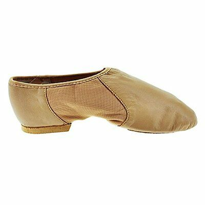 Abbronzatura (TG. 39 Euro) Bloch 495 Tan Neo-Flex Jazz Shoe 6L UK 9L US