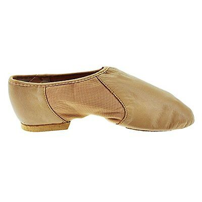 Abbronzatura (TG. 33 Euro) Bloch 495 Tan Neo-Flex Jazz Shoe 1L UK 4L US