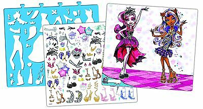 Fashion Angels Monster High Full-Size Sketch Portfolio