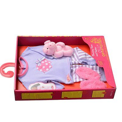 Our Generation Dolls Morning, Noon and Nighty-18-Inch Doll Piggy PJs Outfit