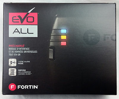 Fortin EVO-ALL Immobilizer Bypass Module for Remote Car Starter EVOALL 60LOT