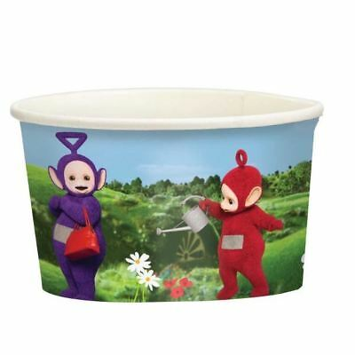 Teletubbies Paper Treat Cups 8 Pack Childrens Birthday Party Tableware