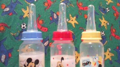MICKY MOUSE BABY BOTTLE & ADULT NIPPLE   for your big baby