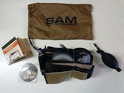 NEW Military SAM Junctional Tourniquet Battlefiled & Trauma Injuries SJT102