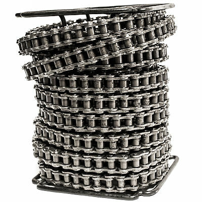 #60 Roller Chain 50 Feet with 5 Connecting Links Free Shipping