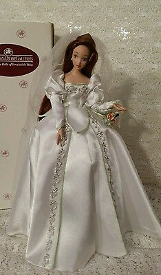 Ashton Drake Disney The Little Mermaid Ariel Bride  doll Mint!