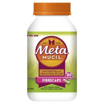 Metamucil Fibre Supplement FibreCaps 160 Capsules