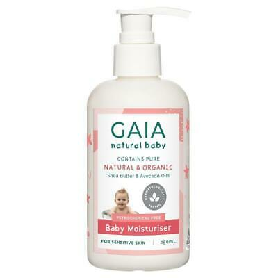 Gaia Natural Baby Moisturiser 250ml